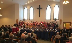 Massed Choir April 10 2016