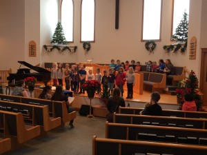 Sunday School Christmas Concert