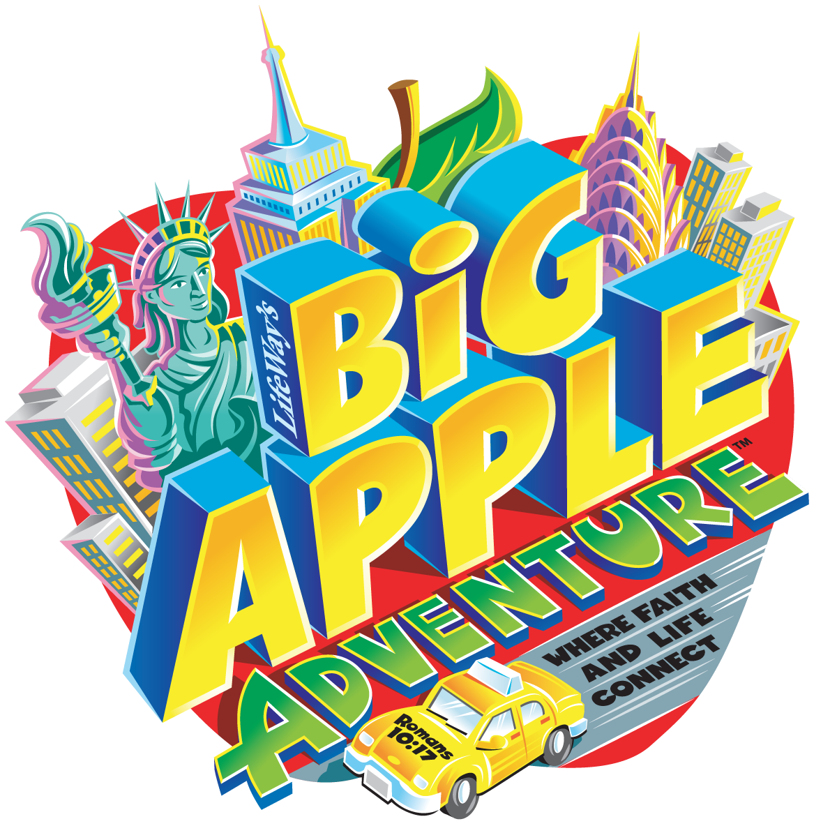 Big Apple Adventure Logo Colour